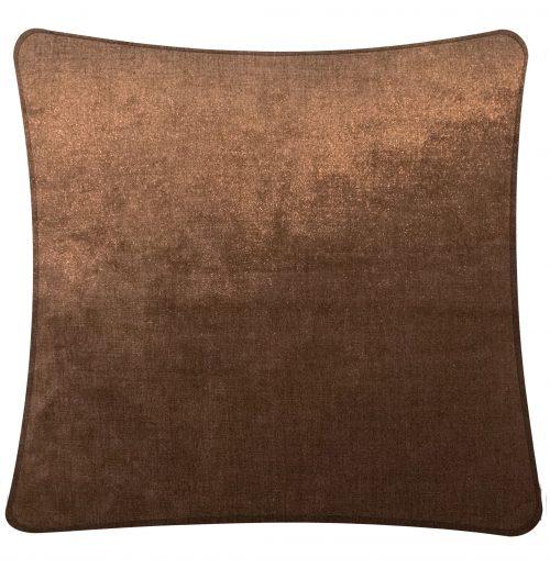 Plain Copper Cushion throw pillowe.
