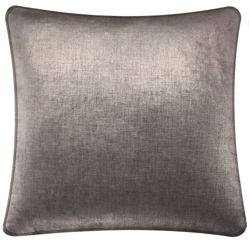 Plain Graphite Cushion Throw Pillow.