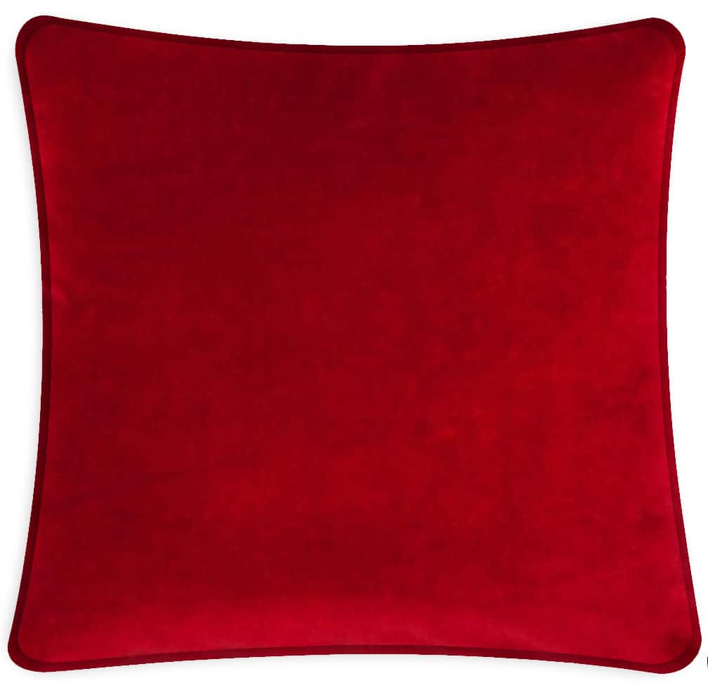 throw red melon knit your accessory love products pillow